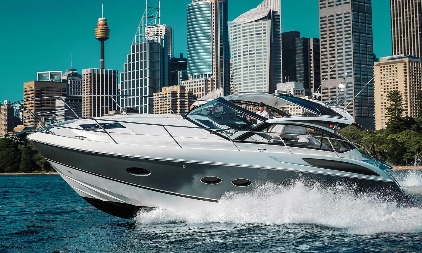 Princess Yachts V39 luxury motor boat