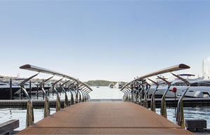 Luxury boats for sale and marina berths Sydney