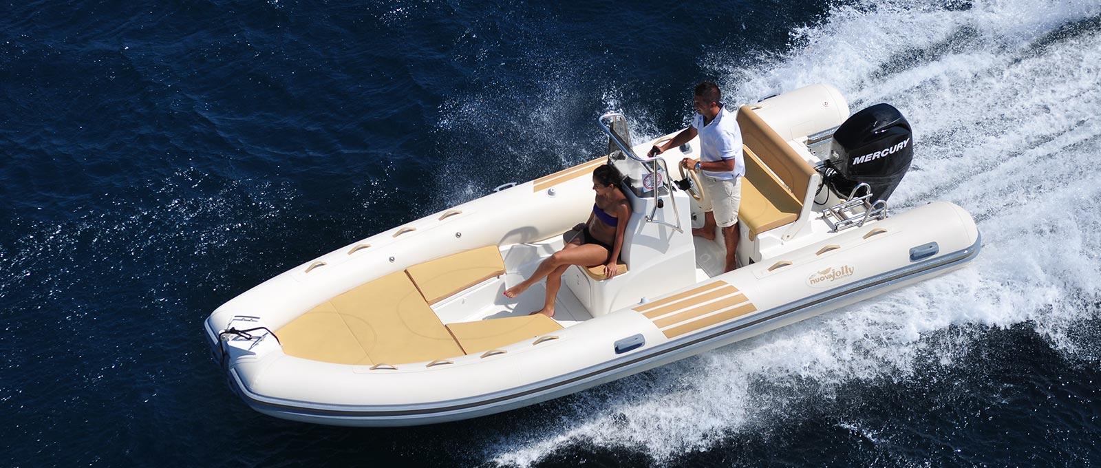 Nuova Jolly Nj 585 Gt - The Boutique Boat Company