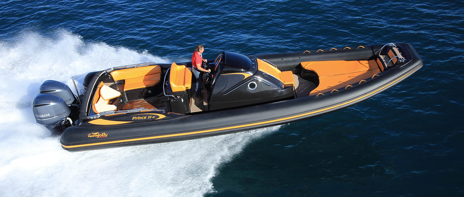 Nuova Jolly Rigid inflatable Prince 35 CC Orange Starboard